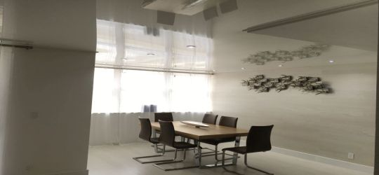 DIY stretch ceiling canvas fabric membrane sound proofing