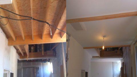 Waco Texas DIY stretch ceiling canvas fabric membrane fans