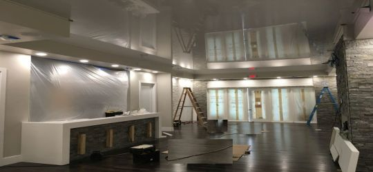 Waco Texas DIY stretch ceiling canvas fabric membrane eco friendly