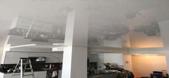 Waco Texas DIY stretch ceiling canvas fabric membrane flat