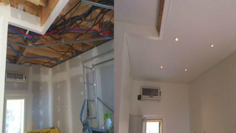 Waco Texas DIY stretch ceiling canvas fabric membrane
